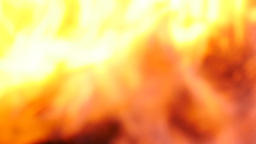 Defocused Burning fire flame Footage