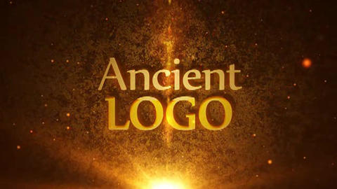 Ancient Logo Reveal After Effects Template