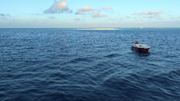 Sea Safari Trip Around The Maldives Archipelago stock footage