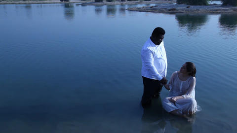 Baptism ceremony Footage