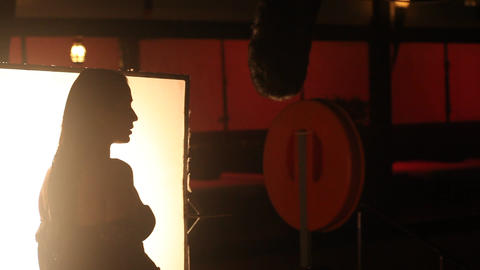 Female Head silhouette Live Action