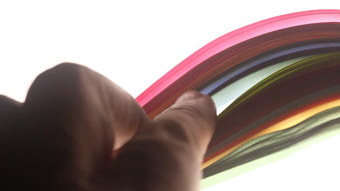 Colorful Paper Texture Footage