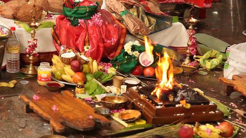 Indian People at Prayer Image