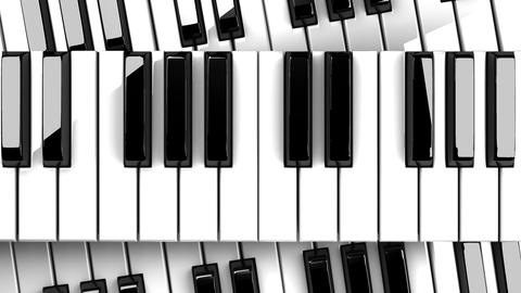 Piano Keyboards Animation