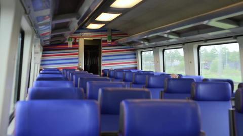Inside High Speed Train Footage