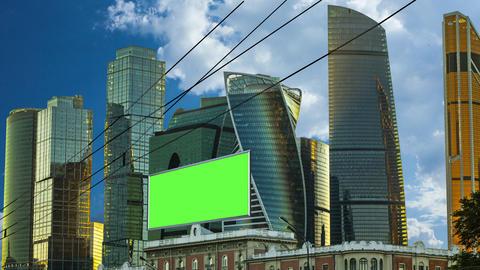 Billboard green screen Image