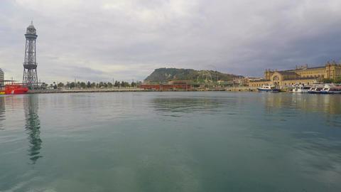 Quiet Harbor Scenery Image