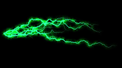 Electricity crackling. Abstract background with electric... Stock Video Footage