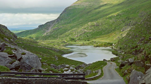 Gap Of Dunloe, Black Valley, County Kerry, Ireland - Graded Version Footage