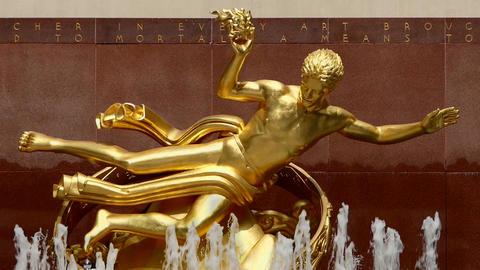 New York Prometheus Fountain Live Action