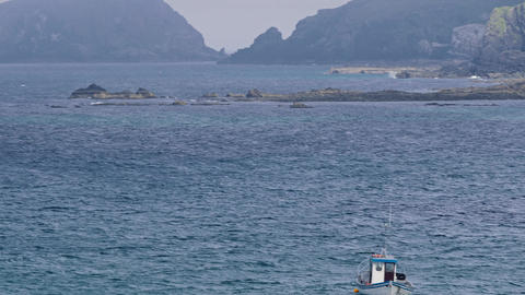 Coastline At Malin Head, County Donegal, Ireland - Graded Version Footage