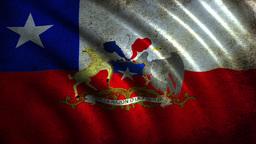 Chile Flag Animation