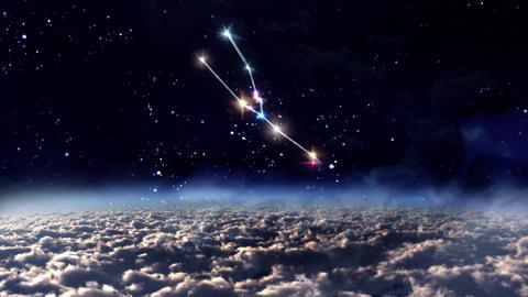 02 Taurus Horoscopes space Animation