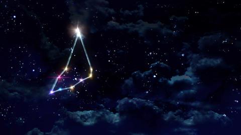 10 Capricorn horoscopes of zodiac sign night Animation