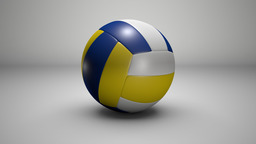Volley Ball 3D Model