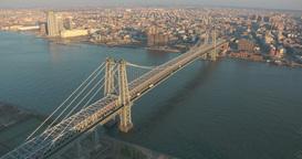 George Washington Bridge Aerial Footage