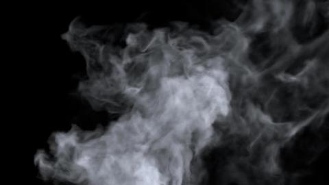 Turbulent Smoke Footage