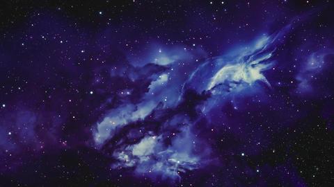 Space Galaxy and Nebula Image