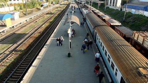 arrival train Archivo