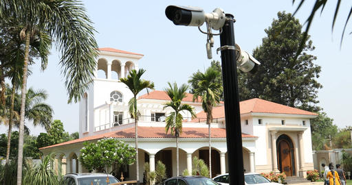 security cameras at the Home Footage