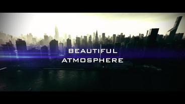 Optics SlideShow-Cinematic Trailer Plantilla de After Effects