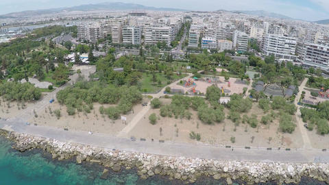 Flisvos Area at Palaio Faliro of Athens 5 Footage