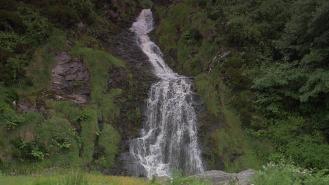 Assaranca Waterfall, County Donegal, Ireland - Native Version, Real 200fps SlowM Footage