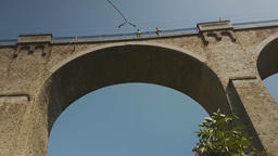 Bungee jumping Bunovo Bridge near Sofia 영상물