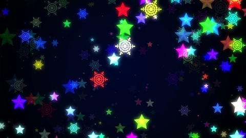 Night glitter zoom 10 Animation