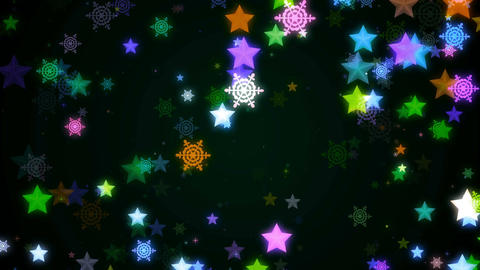 Night glitter zoom 30 Animation