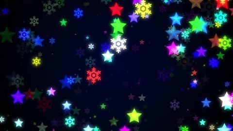 Night glitter zoom 2 Animation