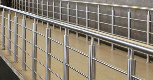 walkway with railings Footage