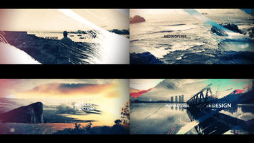 Cinematic Brush Strokes After Effects Templates
