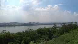 hangang river in korea seoul Image