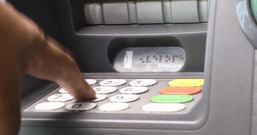 ATM machine Footage