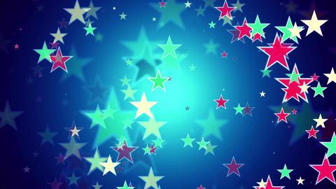 Stars small zoom Animation