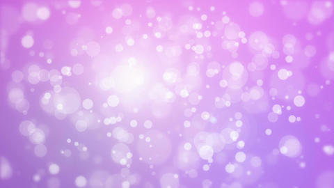 Glowing animated purple pink bokeh background 動畫