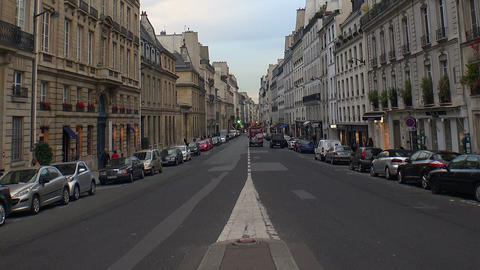 Paris. Architecture, attractions, old houses, streets and neighborhoods. Iconic  Footage
