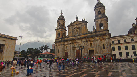 Plaza de Bolivar Footage