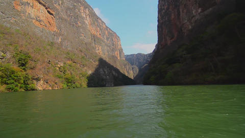 Sumidero Canyon River Footage