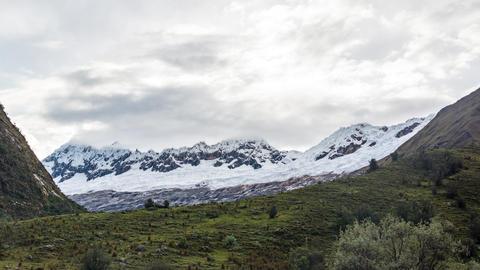 Huaraz Mountains Time Lapse stock footage