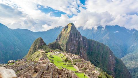 Time Lapse of Machu Picchu Footage