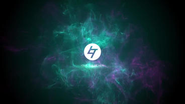 Particles Logo After Effects Template