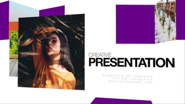 Slideshow 3D Template Plantilla de Apple Motion