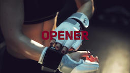 Sport Motivational Opener Premiere Pro Template