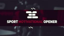 Sport Motivational Opener Premiere Proテンプレート