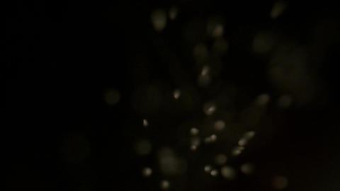 Macro of sugar crystals falling down like snowfall abstract background Footage
