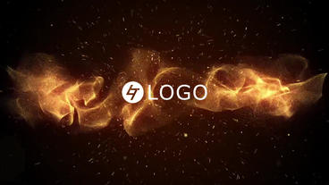 Particles Epic Logo After Effects Template