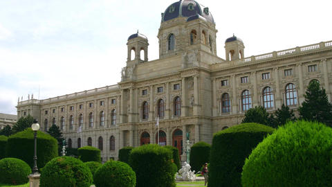 VIENNA, AUSTRIA - AUGUST 12, 2017. The Kunsthistorisches Museum or the Museum of Live Action