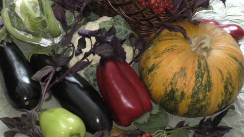 Fresh and ripe vegetables ビデオ